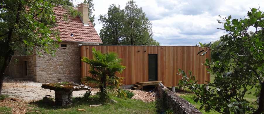extension bois maison en pierre toulouse blagnac colomiers. Black Bedroom Furniture Sets. Home Design Ideas