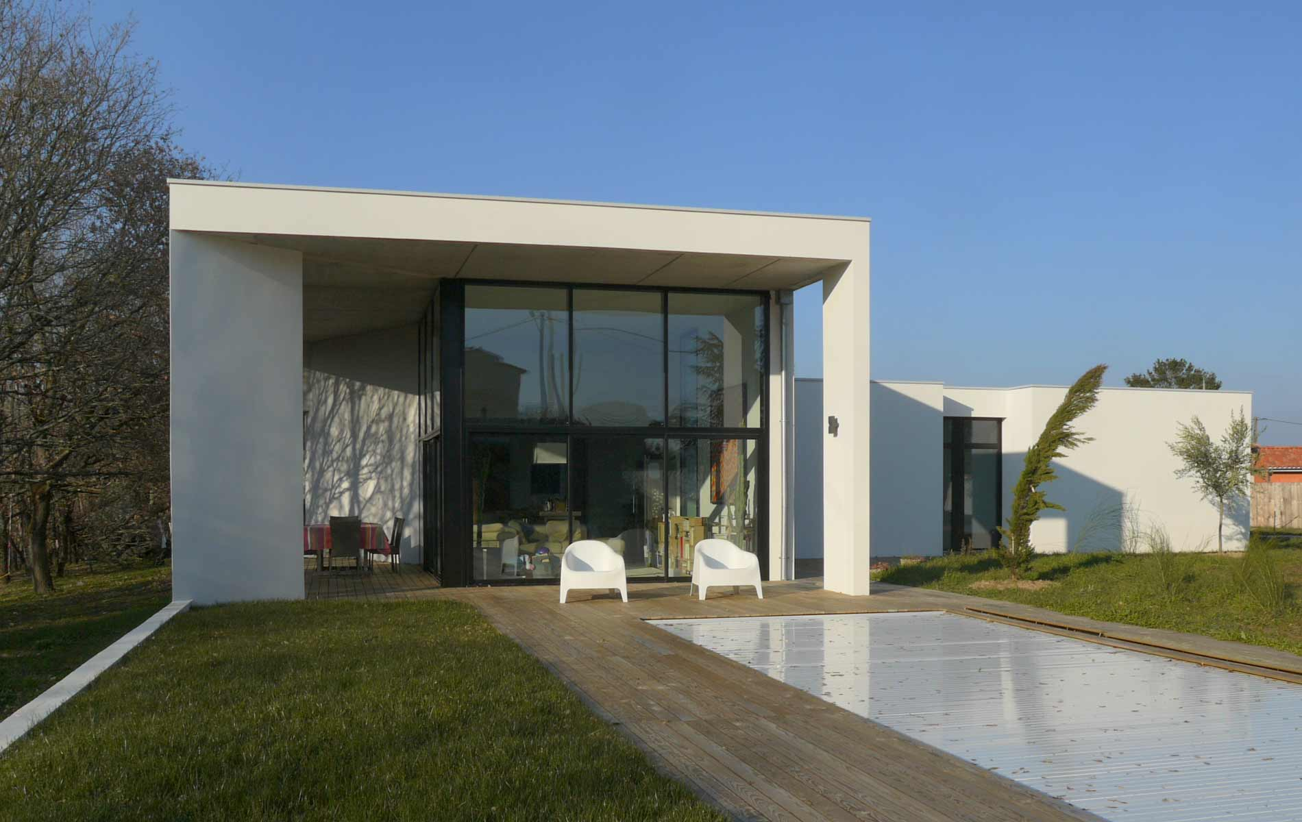 Architecte launaguet architecture contemporaine toulouse - Architecte guadeloupe maison ...