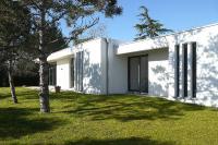 REPORTAGE FIN DE CHANTIER : Maison d'architecte contemporaine, de plain pied à toit plat,  située près de Toulouse secteur Colomiers